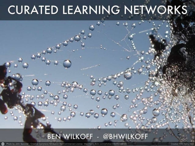 Curated learning networks