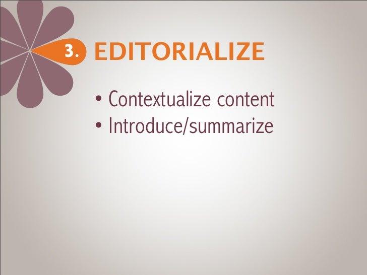 Arrange4.     • Sort content     • Rank content