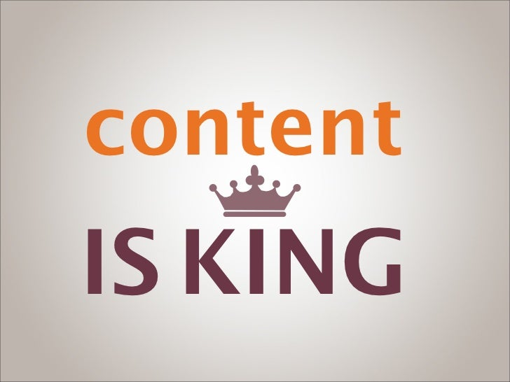 contentIS KING