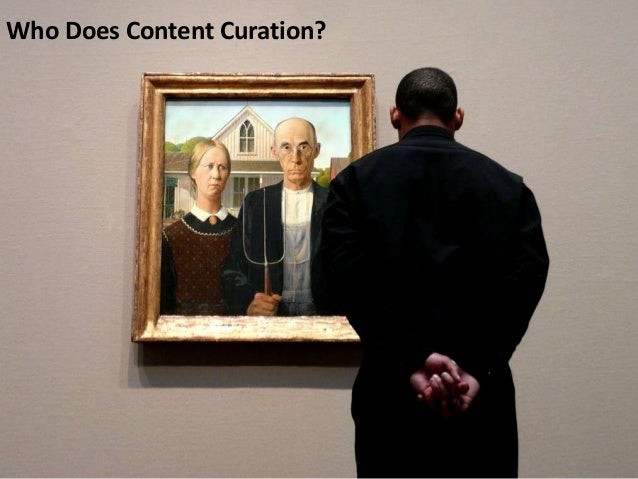 Who Does Content Curation?