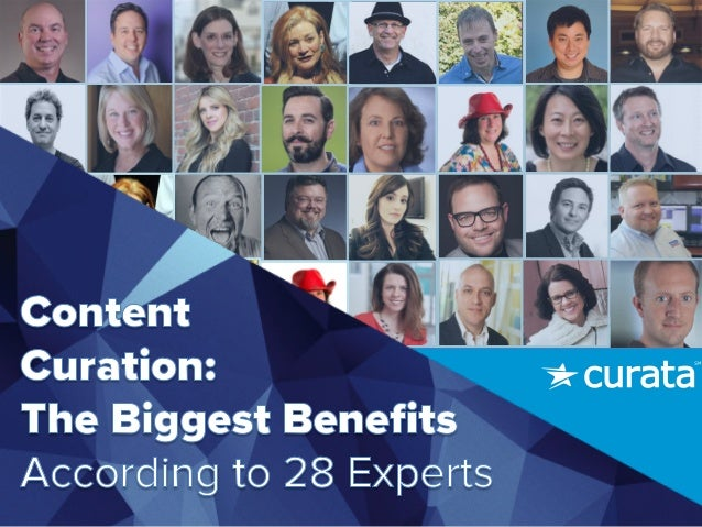 What's the biggest benefit of curation to content marketing? Download	   the	   full	   eBook	   for	   even	   more	    ex...