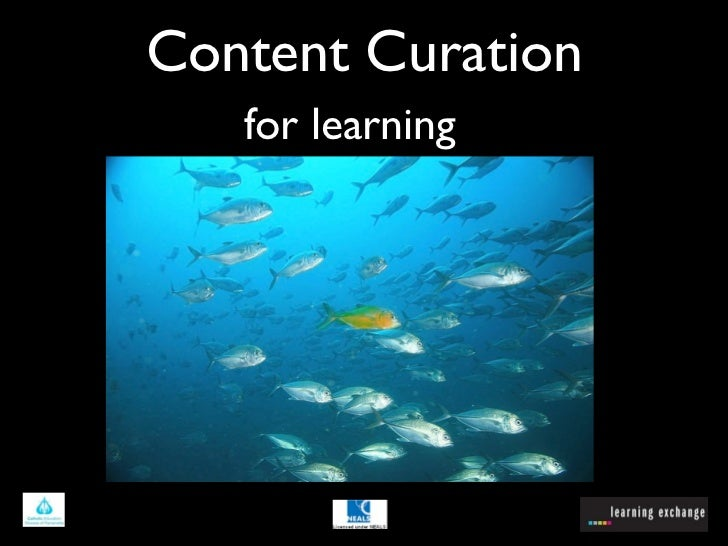 Content Curation   for learning