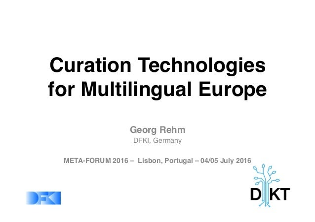 Curation Technologies 