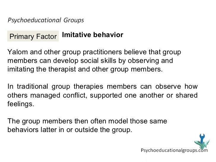 yaloms therapeutic factors