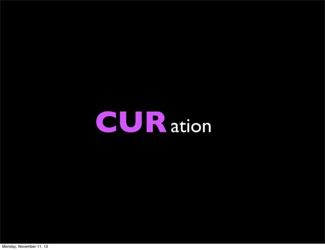 CUR ation  Monday, November 11, 13