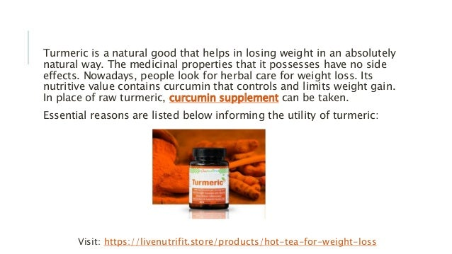 An Essential Weight Loss Ingredient: Turmeric