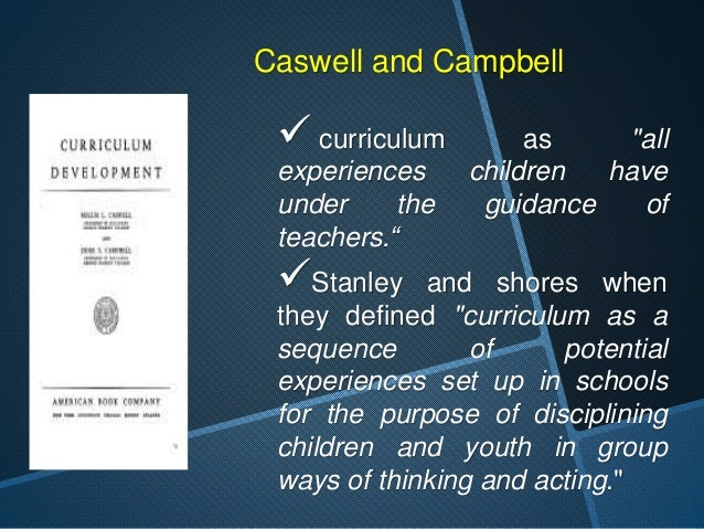 """Marsh and Willis  curriculum as all the  """"experiences in the  classroom which are  planned and enacted  by teacher, and al..."""