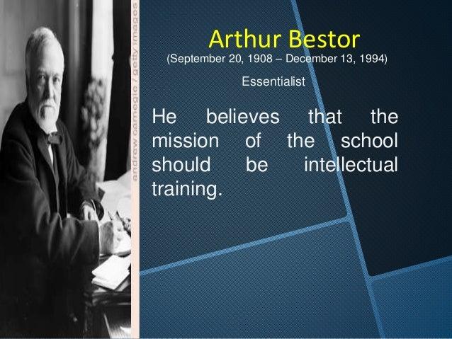 Joseph Schwab  (1909–1988)   discipline is the sole  source of curriculum.   Thus, in our education  system, curriculum ...