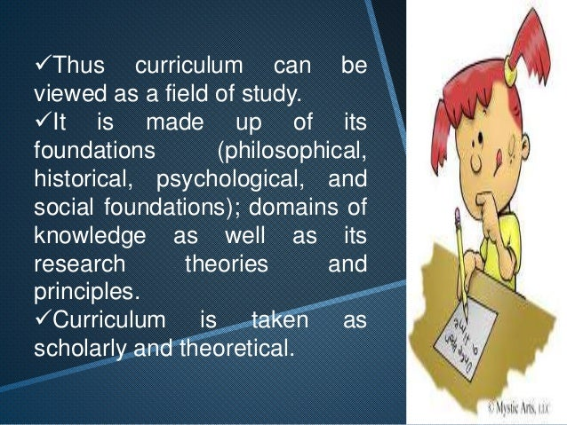 Progressive Points of View  of Curriculum  To a progressivist, a  listing of school  subjects, syllabi, course  of study, ...
