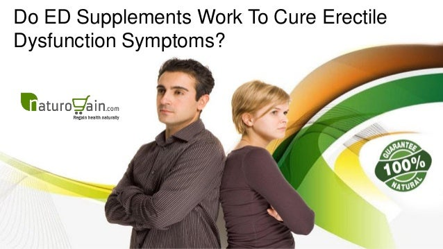 ed supplements actually work