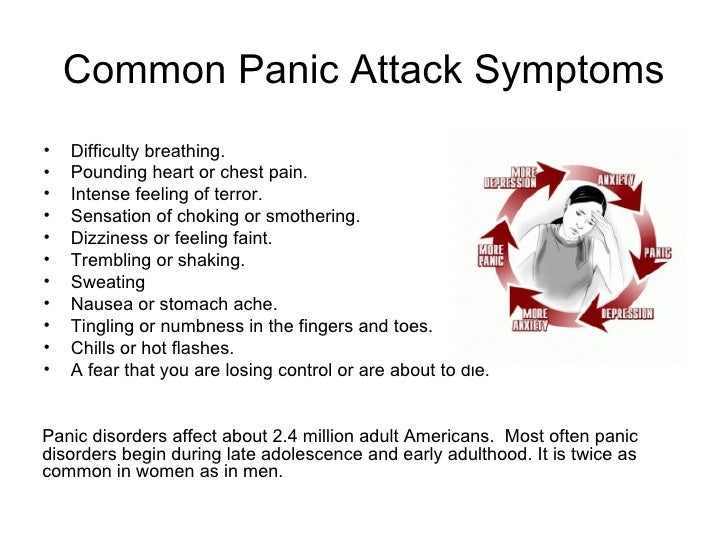 Cure for panic attacks at night