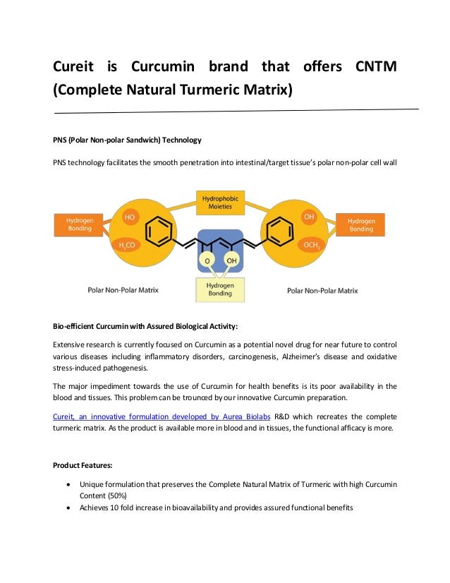 Cureit is curcumin brand that offers Complete Natural