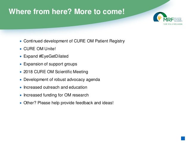 CURE OM Welcome