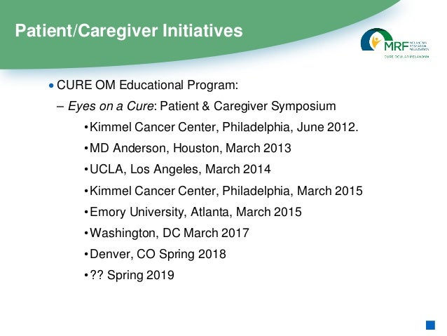 Eyes On a Cure: Patient & Caregiver Symposium