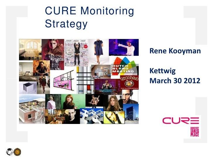 CURE MonitoringStrategy                  Rene Kooyman                  Kettwig                  March 30 2012