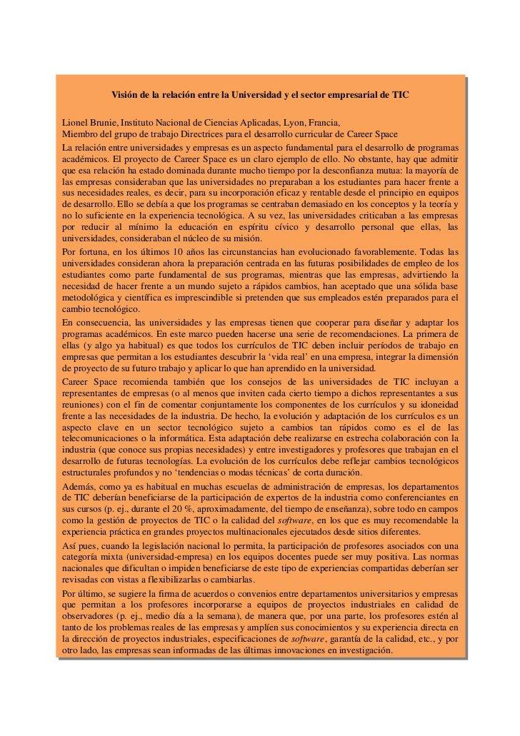 3.7.     Resumen de las necesidades de la industriaEn resumen, los graduados en TIC necesitan una sólida base de capacidad...