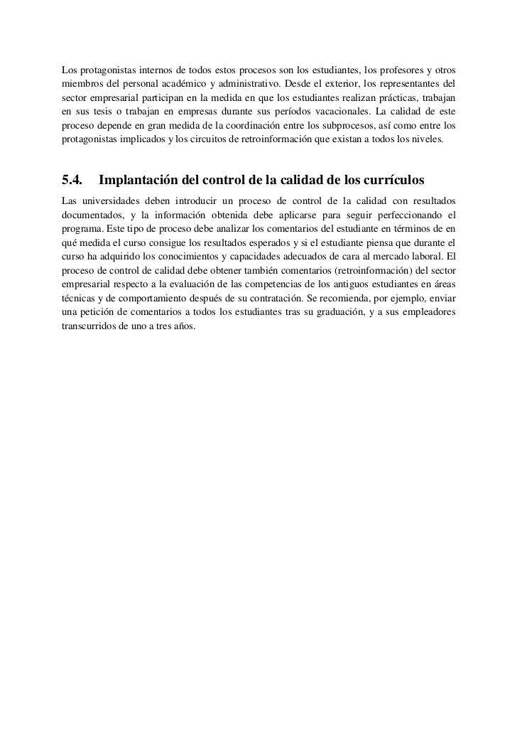 6.      El sistema europeo de enseñanza superior para        el siglo XXI6.1.    Situación actual en Europa: diversidad de...