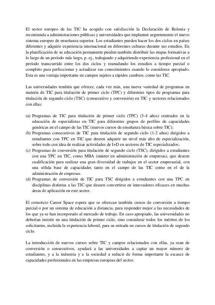 7.       Recomendaciones para el diseño de nuevos         currículos de TICEl ciclo de creación, distribución, formación y...