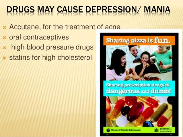 accutane and teenage depression