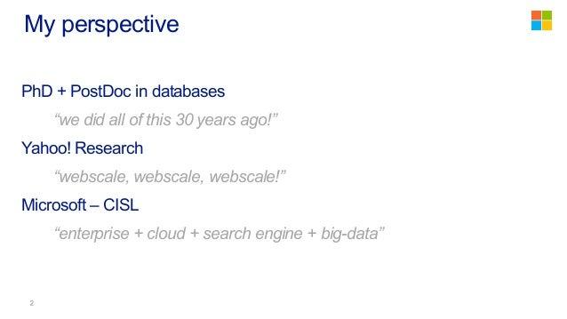 The Evolution of Big Data Frameworks Slide 2