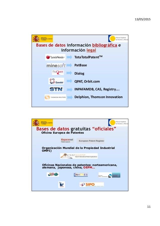 Curioseando por la red taller sobre patentes for Oficina europea de patentes