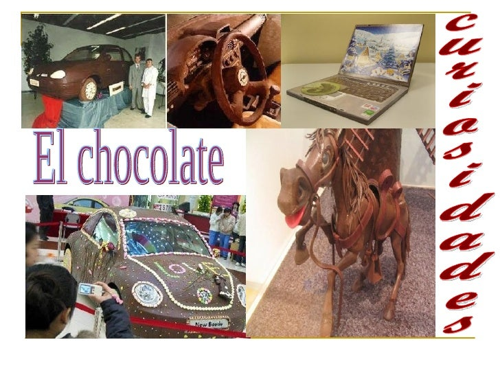 curiosidades El chocolate