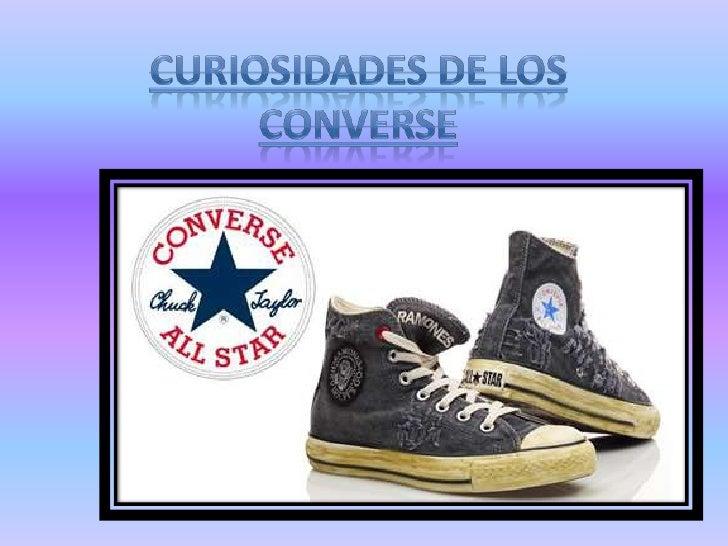La marca CONVERSE es un clásiconorteamericano, con una larga historia.Fue fundada por el Marqués JohnCONVERSE que en 1908 ...