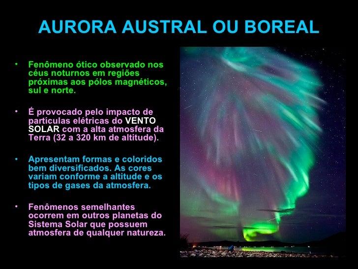 Resultado de imagem para aurora austral e boreal diferença