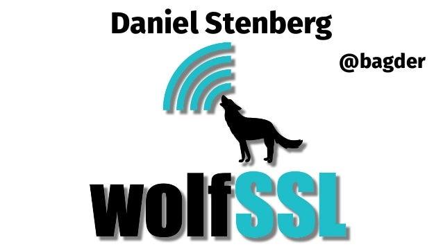 Daniel Stenberg @bagder