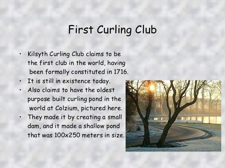 Resultado de imagem para Kilsyth Curling Club