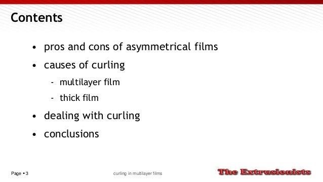 Curling in multilayer films Slide 3