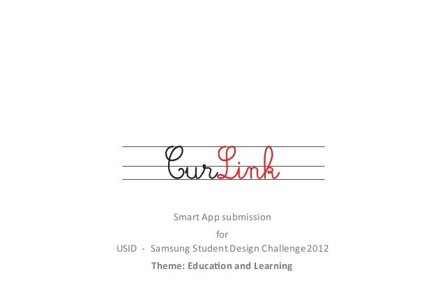 CurLink - multi lingual cursive writing app