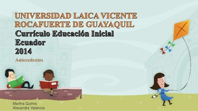 curr culo educaci n inicial 2014 ecuador