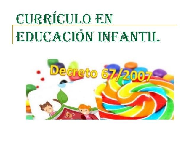 Curr culo en educaci n infantil for Programa curricular de educacion inicial