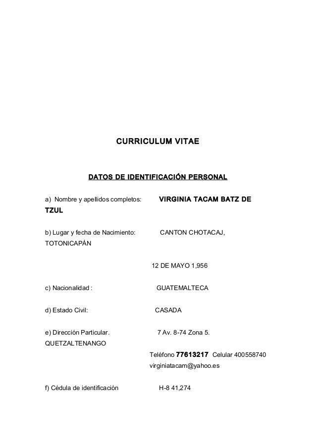 Currículo+vitae --sdad