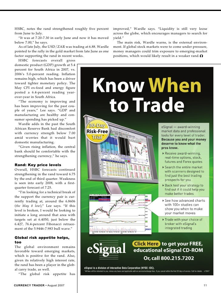 What is a currency trader