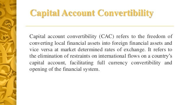 Convertibility of Indian Rupee