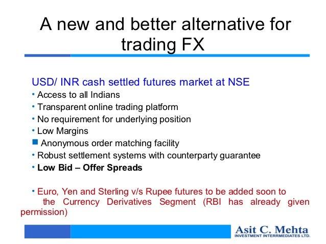 Basics of future and option trading