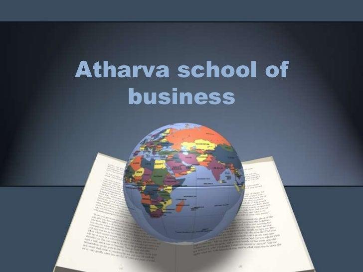 Atharva school of    business