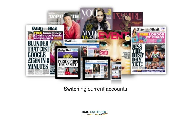 Switching current accounts