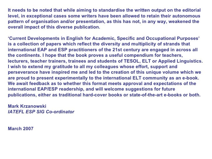 english for occupational purposes Eop - english for occupational purposes looking for abbreviations of eop it is english for occupational purposes english for occupational purposes listed as eop.