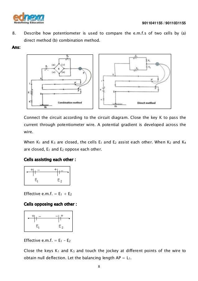12th Physics - Current Electricity - Q & A