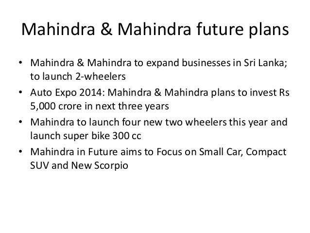 MAHINDRA &MAHINDARA Slide 7
