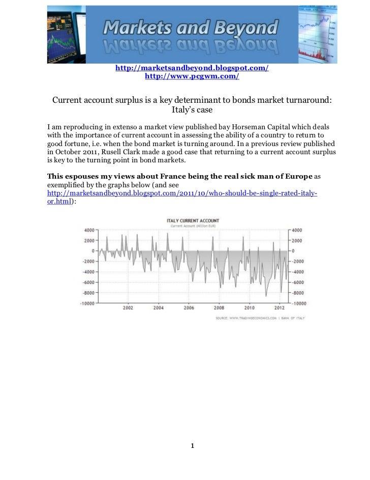 http://marketsandbeyond.blogspot.com/                             http://www.pcgwm.com/ Current account surplus is a key d...