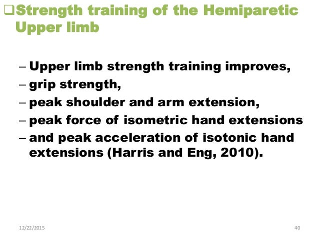 Current Techniques For Rehabilitation Of Upper Limb After Stroke