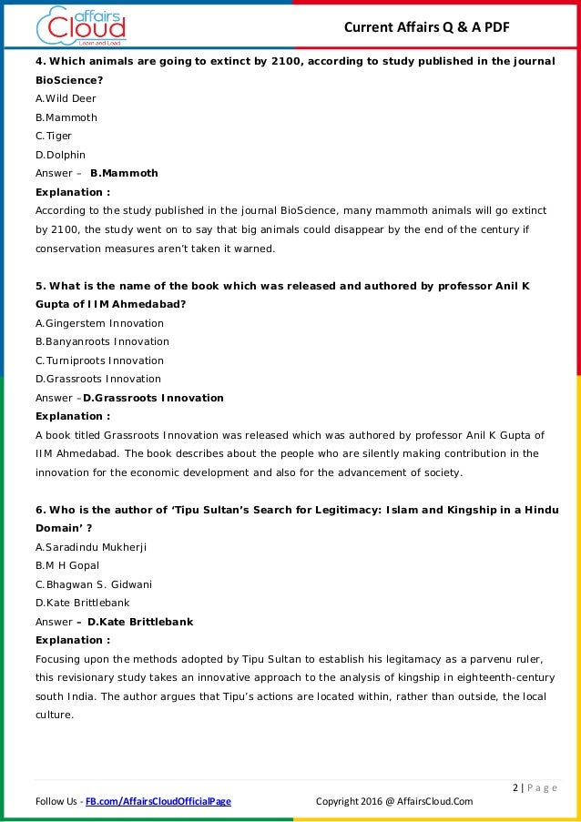Current affairs pdf professors bangladesh