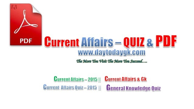 CATEGORY WISE CURRENT AFFAIRS FROM JANUARY 2015 TO JUNE Awards and Honours Appointments Banking and Finance Indian Affairs...