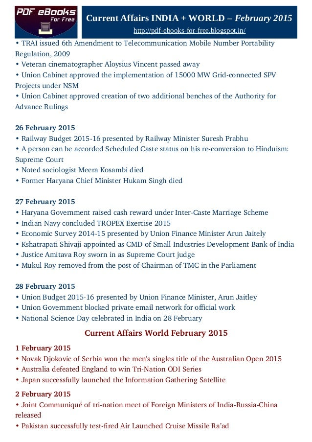 Indian Railway Budget 2015 Pdf