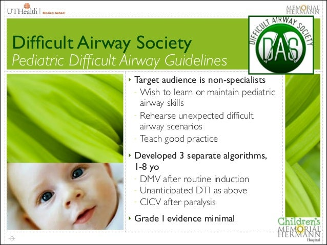 the difficult airway society guidelines