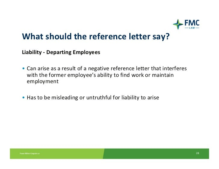 Current hr issues 28 what should the reference letter expocarfo